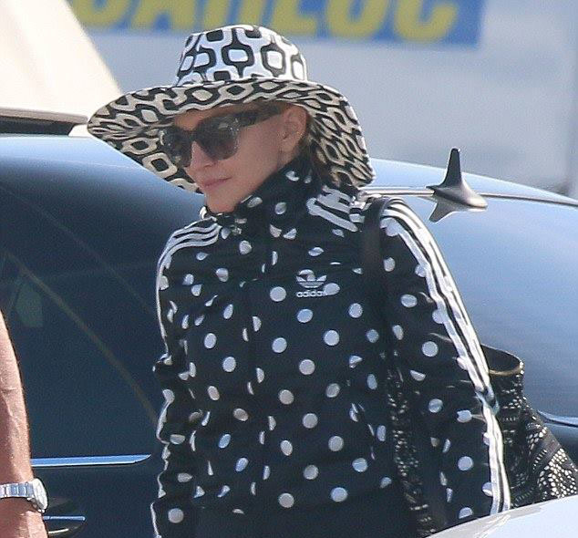 Madonna, Cannes'da görüntülendi. 07.08.2014