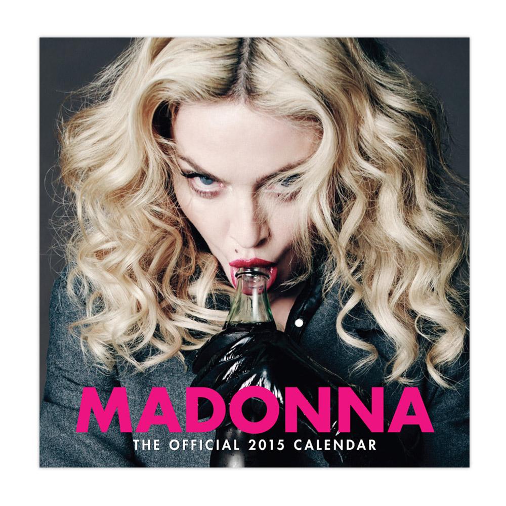 2015 Madonna takvimi satışa çıktı!