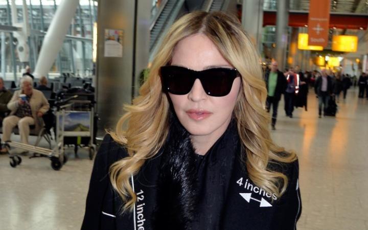 Madonna, Londra'da görüntülendi. 5-6 Nisan 2016