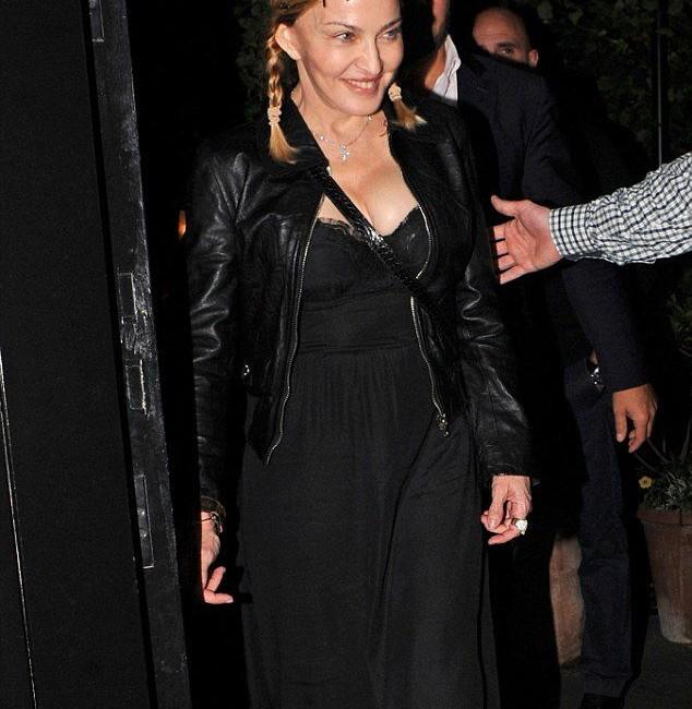 Madonna 30 Haziran tarihinde Londra'da görüntülendi. 30.06.2016