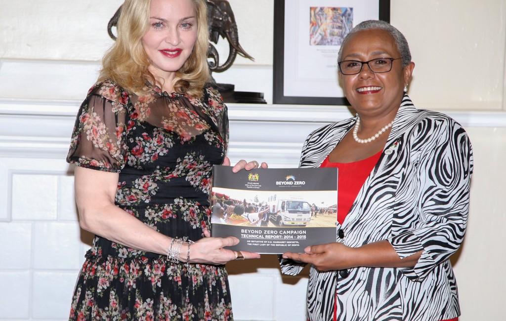Madonna, Kenya'da 04.07.2016
