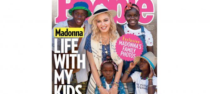 People Dergisinin Bu Haftaki Sayısının Kapağını Madonna Süslüyor!