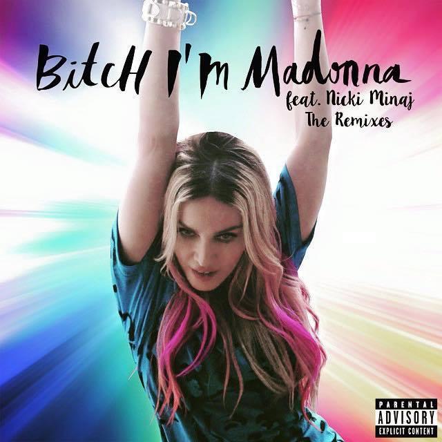 Bitch I'm Madonna teklisinin video çıkış tarihi, klip detayları ve single kapağı hakkında bilgiler