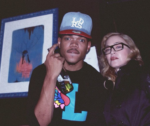 Chance The Rapper'dan Madonna'ya Teşekkür