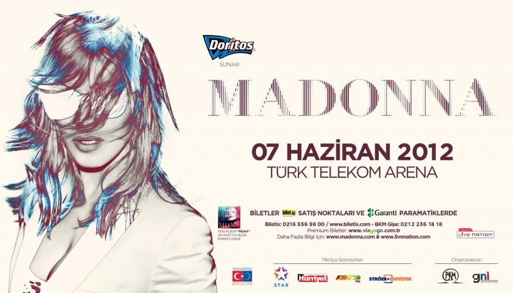 Geçmişte Bugün – Madonna İstanbul Konseri