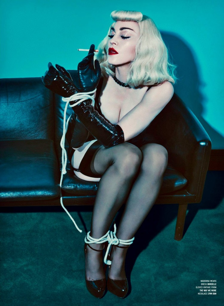 HQ Madonna & Katy Perry by Steven Klein for V Magazine #68