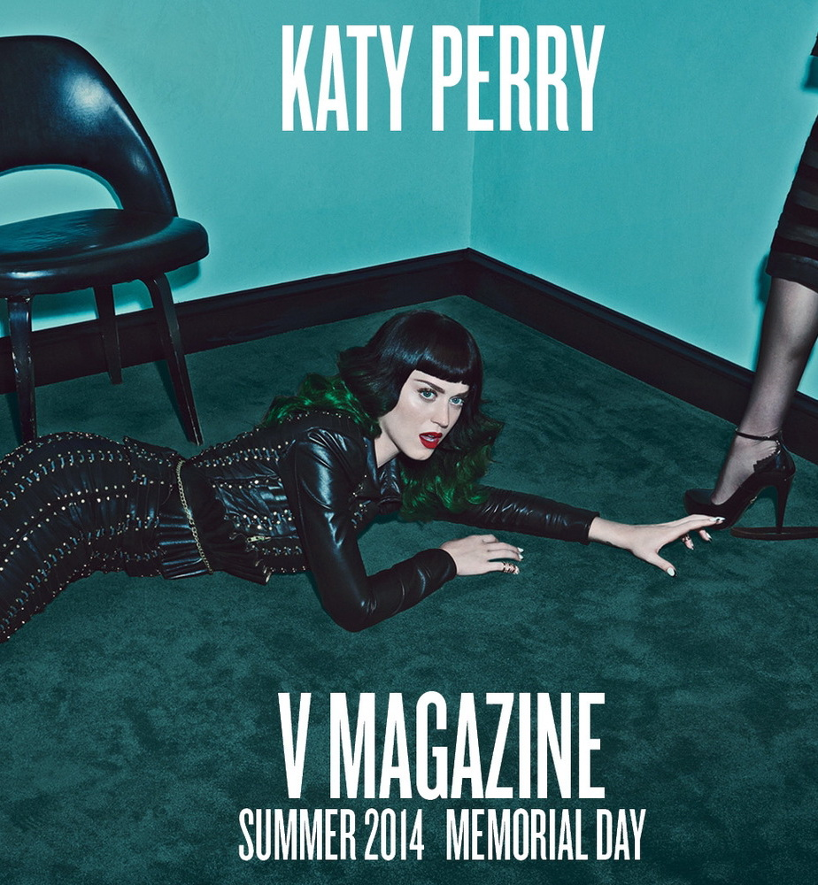 HQ Madonna & Katy Perry by Steven Klein for V Magazine #9