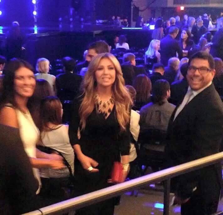 Latin şarkıcı Thalia, Madonna konserinde