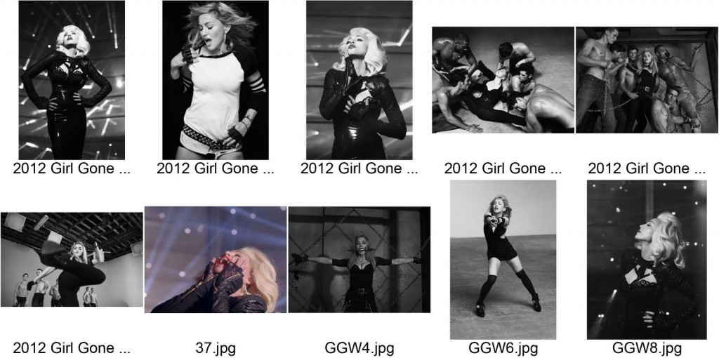 MADONNA MDNA OUTTAKES PART4