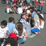 MADONNA'NIN İSTANBUL  KONSERİ ÖNCESİNDE TÜRK TELEKOM ARENA'YA GELEN FANLAR-1