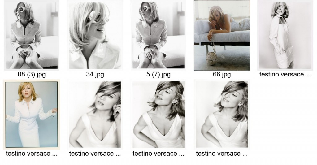 Madonna- 1995 Versace campaign Photographed by Mario Testino - Outtakes part1