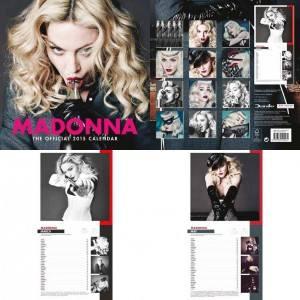 Madonna 2015 Takvimi İçeriği