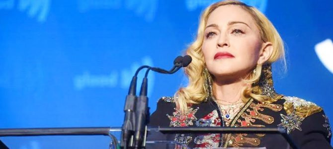Madonna 30th Annual GLAAD Media Awards Fotoğraf ve Video
