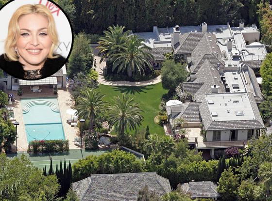 Madonna Beverley Hills'de bulunan malikanesini 20 milyon dolara sattı