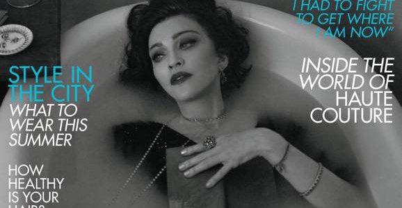 Madonna, İngiliz Vogue Dergisinin Haziran Sayısına Kapak Oldu.