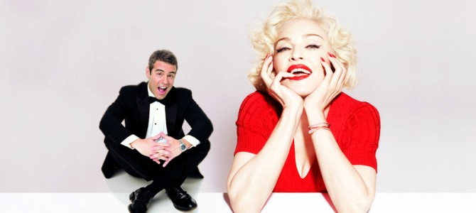 Madonna interview with Andy Cohen on Sirius XM Full Listen