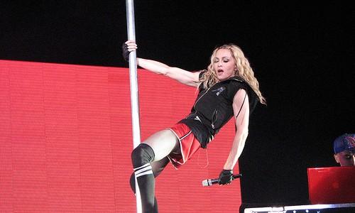 Madonna Direk Dansı Öğreniyor