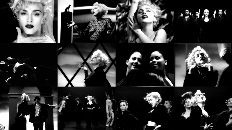 Madonna – Unreleased Vogue Video Outtake