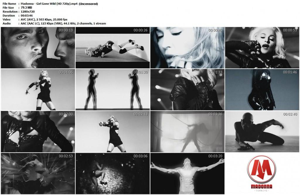 Madonna - Girl Gone Wild (Uncensored)madonnaturkiye(HD-720p)