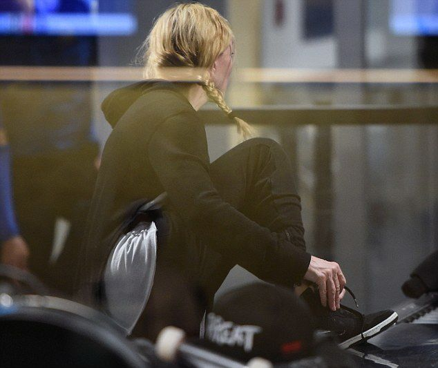 Madonna JFK Havalimanında