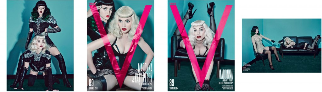 (Madonna & Katy Perry by Steven Klein for V Magazine-photoshoots