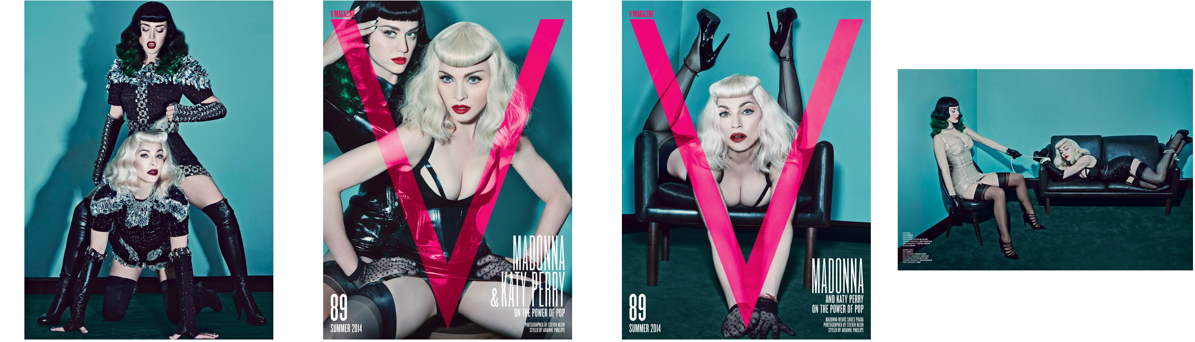 Madonna & Katy Perry by Steven Klein for V Magazine-photoshoots (Download)