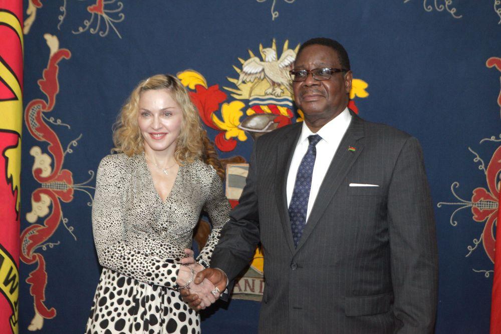 Madonna Malawi'de İyi Niyet Elçisi İlan Edildi