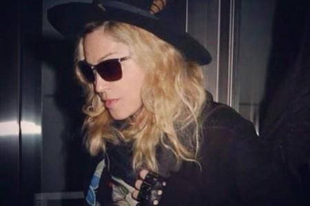 Madonna JFK Havalimanında – 14.03.2015