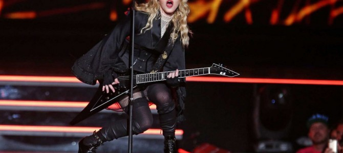 Madonna New York Madison Square Garden Pictures 16.09.2015