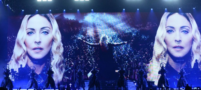Madonna Rebel Heart Tour (Montreal / 10 Eylül 2015)