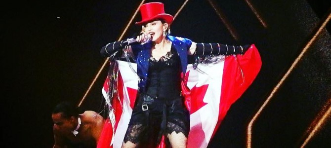 Madonna Rebel Heart Tour October 5 – Toronto, ON Air Canada Centre Pictures