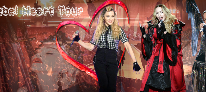 Madonna – Rebel Heart Tour Tüm konserlerin Fotoğraf ve Videoları