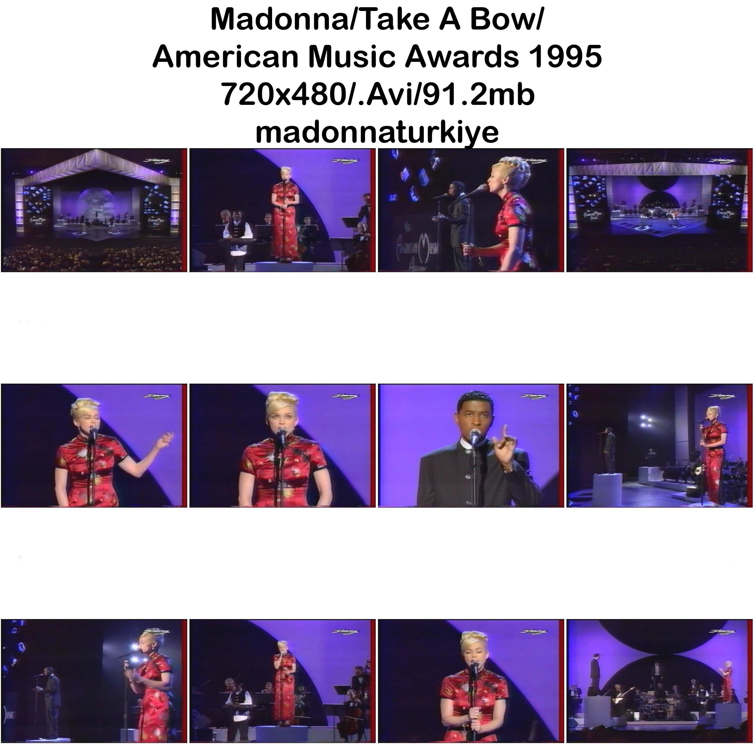 Madonna - Take A Bow - The Remixes