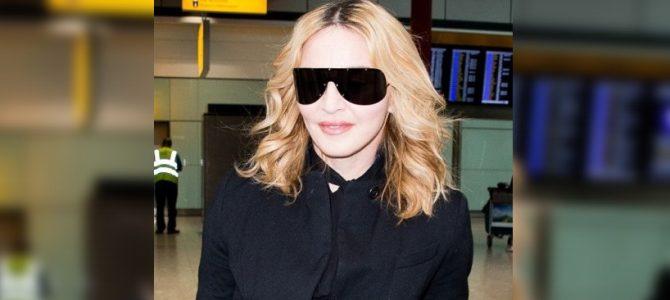 Madonna, Londra'ya giderken görüntülendi. 12.09.2016
