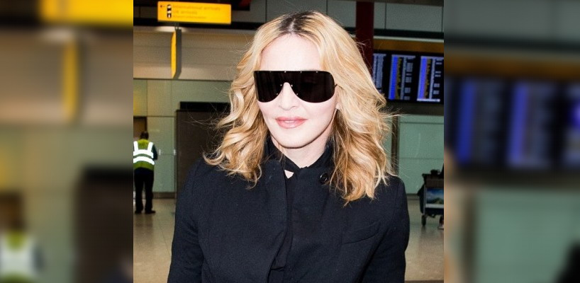 Madonna arriving at Heathrow airport in London [12 September 2016 - Pictures]