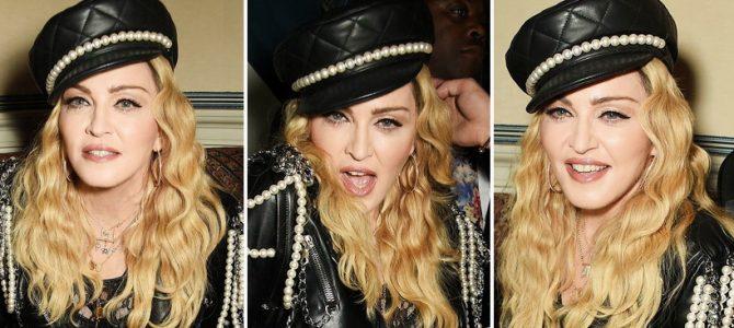 """Madonna, Mert Alas'ın """"exhibition"""" adlı fotoğraf sergisi için Londra'da…"""