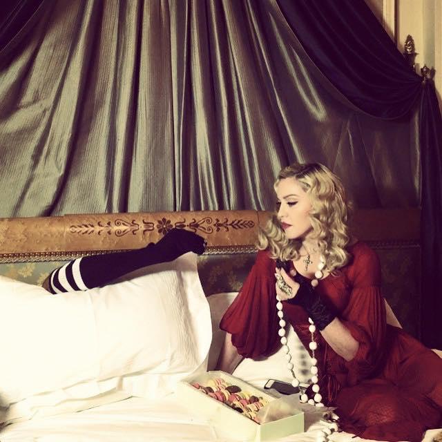 Madonna'dan Eğlenceli Turne Mesajı