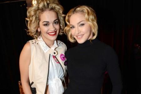 Rita Ora ve Zendaya'dan Madonna İmajı