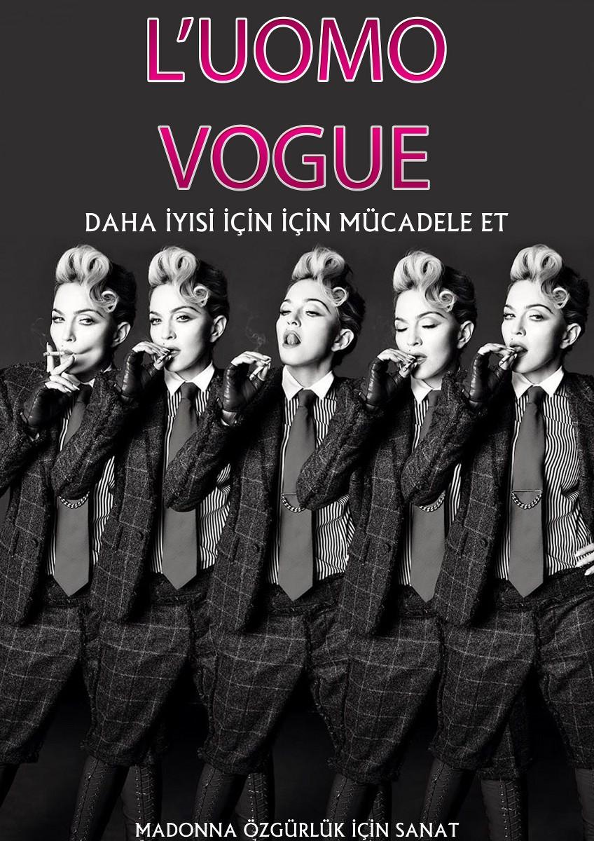 Türkçe çevirili L'umo Vogue E-Dergi