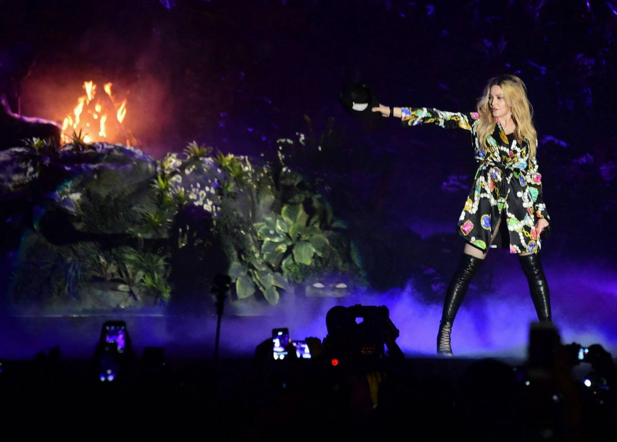 Madonna Coachella Festivali'nde (12Nisan 2015)