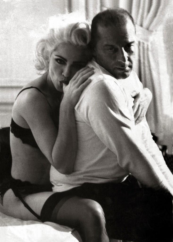 Madonna Justify My Love setinde iken.
