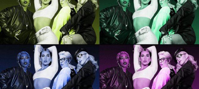 """Dua Lipa, Missy Elliott ve Madonna düeti olan """"Levitating Remix"""" yayınlandı."""