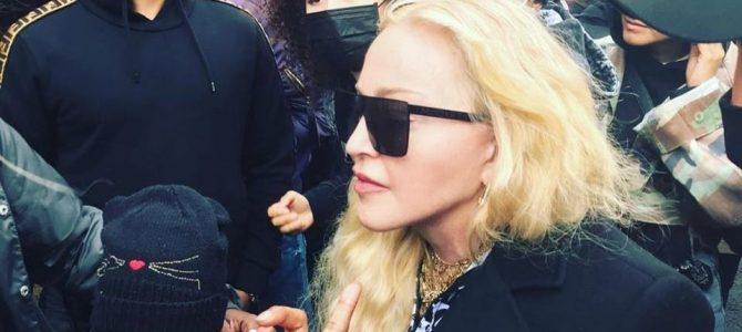 Madonna Black Lives Matter Protestosuna Katıldı