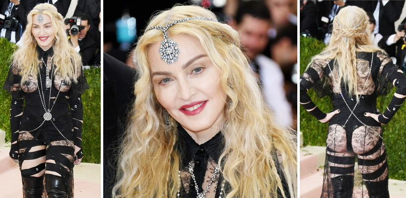 Madonna Met Gala 2016 Pictures and Videos