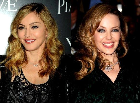 Kylie Minogue, Madonna İle Düet Yapmak İstiyor